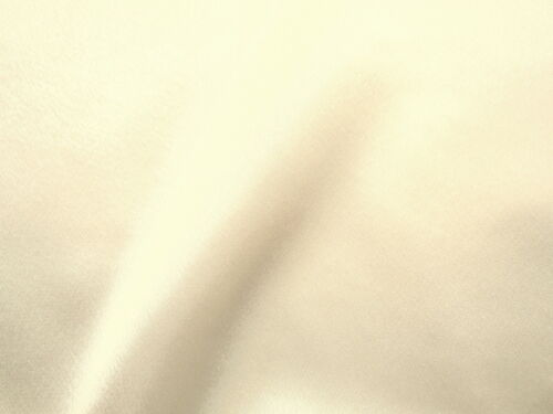 Beautiful IVORY CHARMEUSE HIGH SHEEN SATIN or Lining Fabric BRIDAL