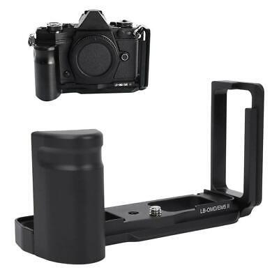 Camera L Bracket Hand Grip Holder Plate Vertical for Olympus E-M5 Mark II EM5II