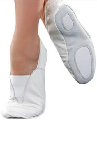 Gymnastik Schuhe Original Leder Trampolin Training Tanz Gepolstert Segeltuch
