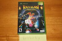 Rayman Arena (microsoft Xbox) Sealed Black Label, Y-fold W/upc, Super Mint