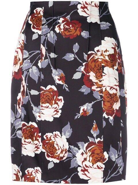 New Theory Hourglass High Waist Skirt Size 0 MSRP