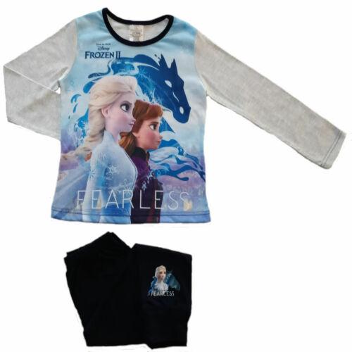 Wähle Frozen 2 /'Fearless/' Schlafanzug Mädchen Charakter Pyjama 4-10 Jahre