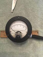 Vtg Radio Panel Meter Weston Model 301 Milliamperes Dc 0 15 Me476