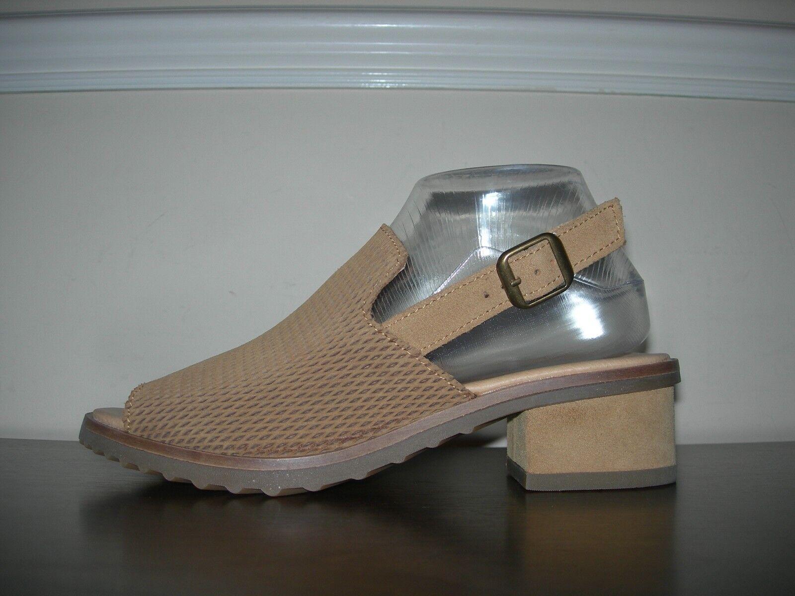 EL NATURALISTA WOMEN'S Schuhe SANDALS OPEN TOES 100% LEATHER EU 39 / UK 6 SLIM