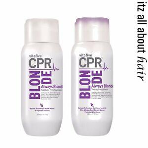 Vitafive-CPR-Always-Blonde-Shampoo-Conditioner-300ml-Duo
