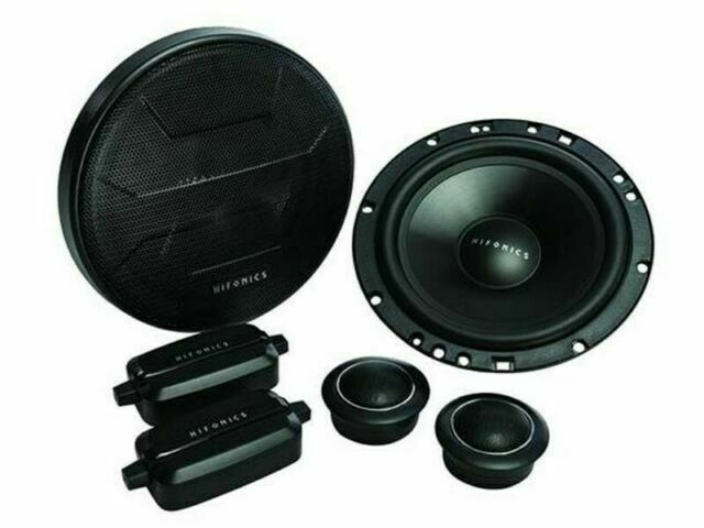 2-Way Car Audio Grills Included 200 Watt Sound System 5.25 Inch Coaxial Speakers Black, Pair Passive Crossover Hifonics ZS525CX Zeus Coaxial Car Speakers