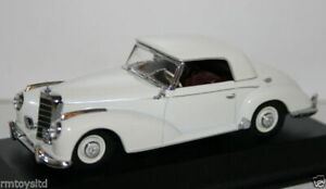 Minichamps-Escala-1-43-Min-032322-Mercedes-Benz-300-S-Coupe-1951-55-Blanco