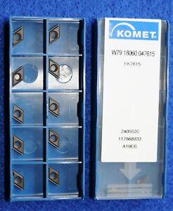 10 Stück Komet Wendeschneidplatten XW29 42000.2979 WOEX 080410-01 #46