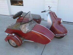 1957 Other Makes Heinkel with Wilmsen sidecar