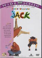 Sealed - Jack Dvd Robin Williams Brand