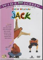 Sealed - Jack Dvd Robin Williams Brand