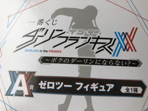 DARLING IN THE FRANXX Zero Two 002 ichiban kuji figure Red ver anime