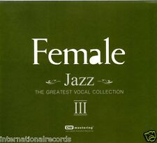 """""""Female Jazz Vol.3 - The Greatest Vocal Collection"""" 24bit 96kHz Audiophile 2-CD"""