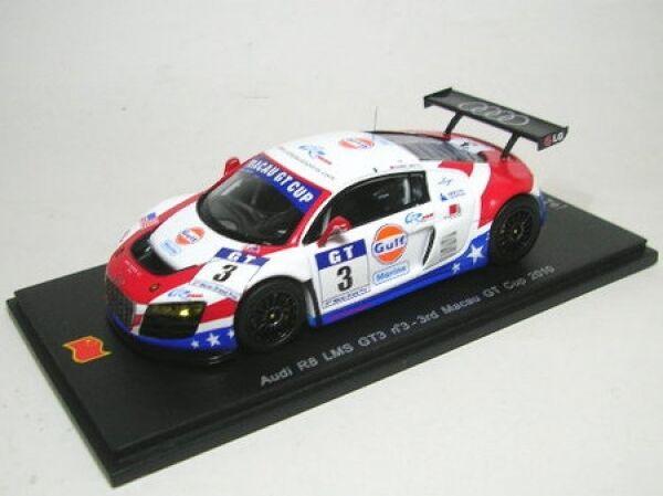 Audi R8 Lms GT3   Gulf) No. 3 Macau Gt Cup 2010