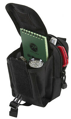 x Pouch 5 Black Accessory 4 Compatible 9774 1 MOLLE Rothco 3 x 2 Polyester fqdwvTd