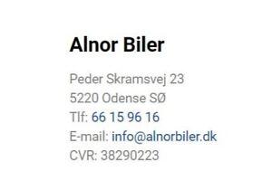Alnor Biler