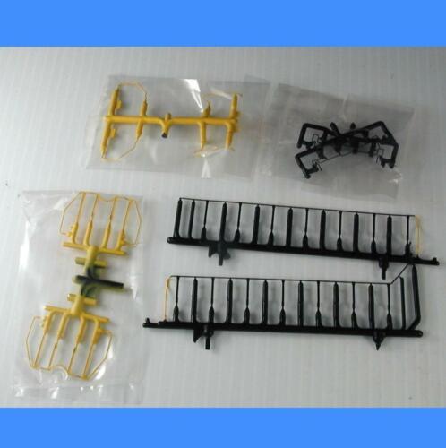 - Athearn HO Plastic Version SW1500 SOUTH RIVER BLAK /& YELLOW Handrail Set