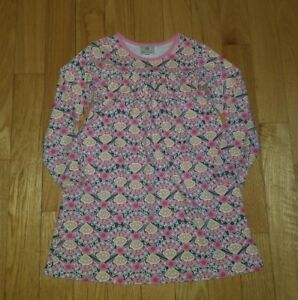 Girls-HANNA-ANDERSSON-Floral-Dress-Sz-130-Excellent-Condition