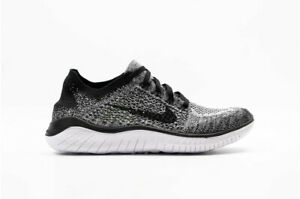 new products 6dd2f 07928 Details about Nike Mens Free RN Flyknit 2018 - White/Black (942838-101)