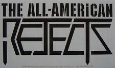 THE ALL AMERICAN REJECTS - Logo - Aufkleber Sticker - Neu #189