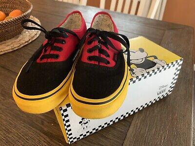 Vans Disney Authentic Mickey Maus rot gelb Jungen Herren 4 Damen 5.5 Vans Socken   eBay