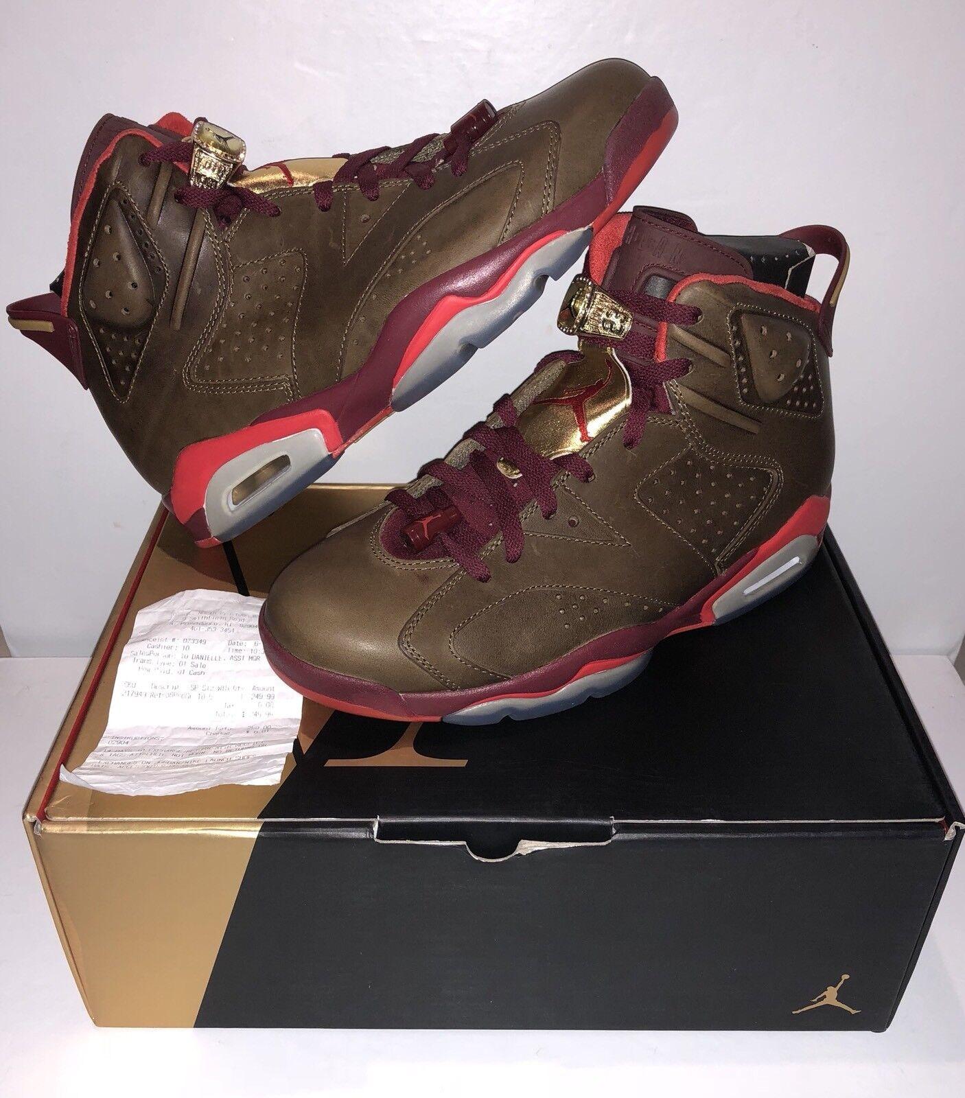 Nike Air Jordan 6 Retro Cigar Size 10.5