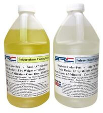 Color-Pro Clear Polyurethane Liquid Plastic Casting Resin 1 Gallon Kit