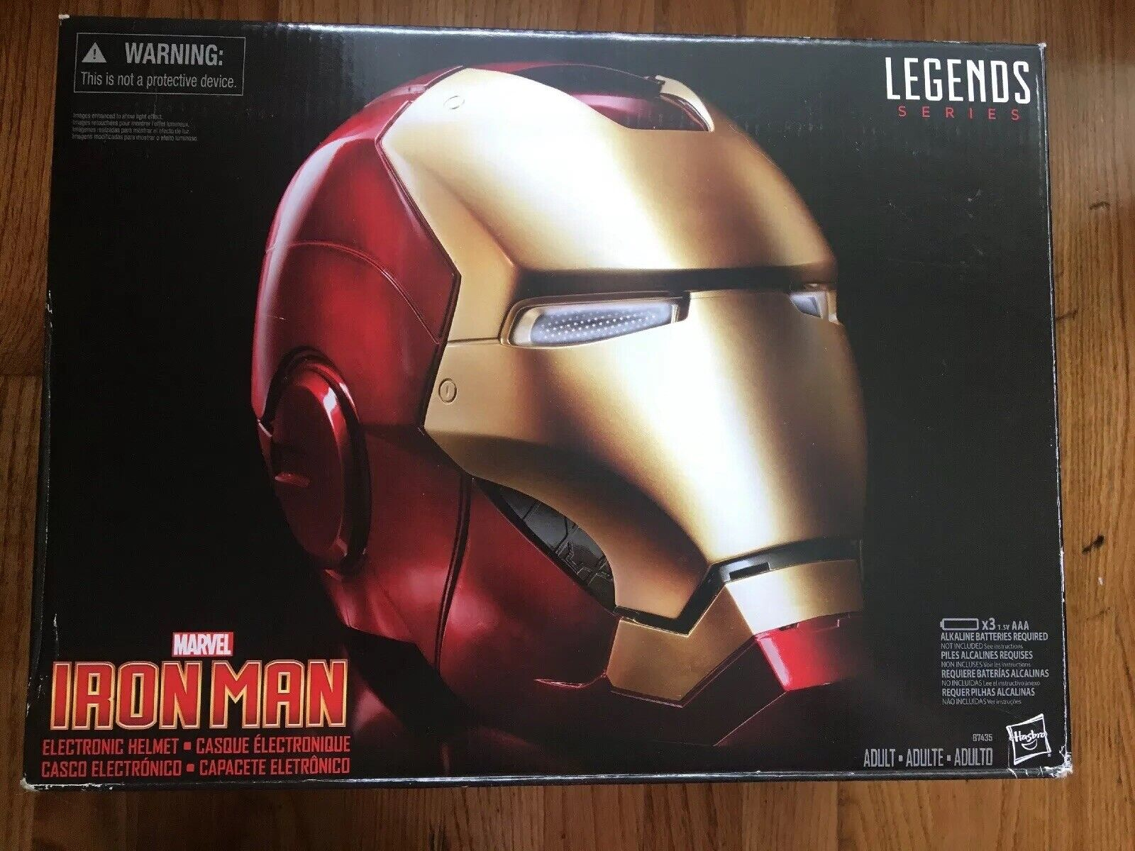 Marvel Iron Man electronic Helmet Legends  Series  populaire