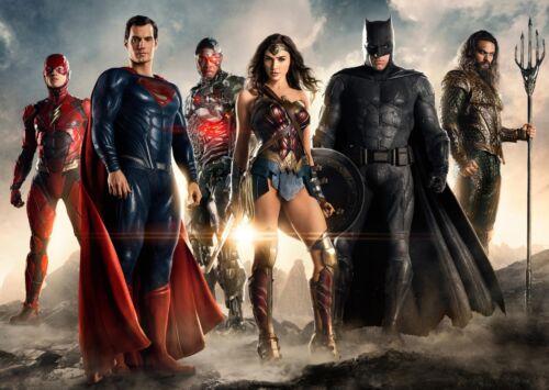 A0 A1 A2 A3 A4 Sizes Justice league Movie Superhero Giant Poster Art Print