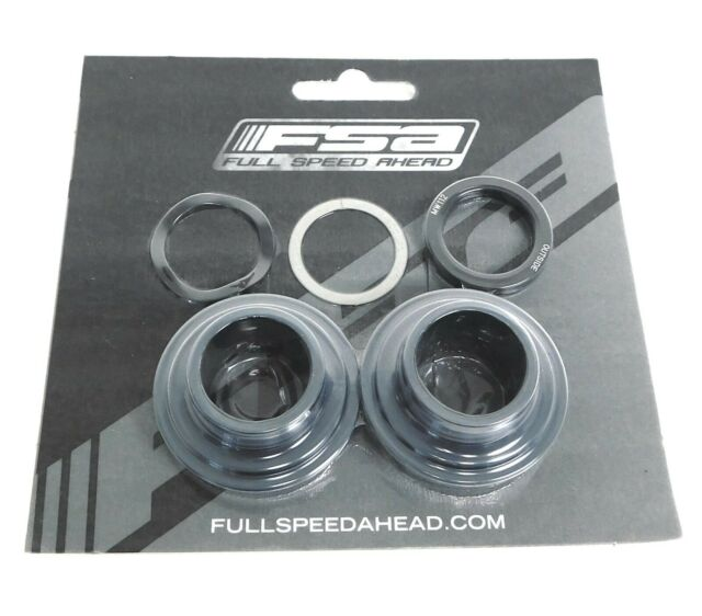 FSA PF30 to MegaExo Bottom Bracket Adapter for 24mm Spindle Cranks New