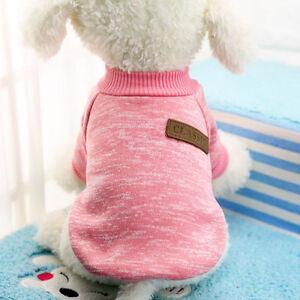 Pet-Clothes-SWEATER-Chihuahua-Yorkie-Small-Dog-Coat-Jacket-Fleece-Soft-Warm-hi