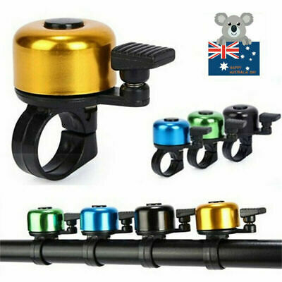 Clear /& Loud Ping Bell Bike Bicycle Handle Bar Ring Cycle Push Sports HornsFB