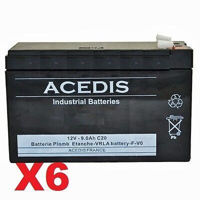 Appena Batterie 12v Pour Onduleur Eaton Powerware Dell 1920w (h928n-2u)