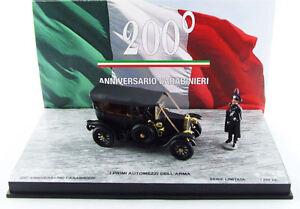 Fiat '0' Les premiers véhicules de l'arme avec 2 figurines limitées à 200 pièces 1:43 Rio