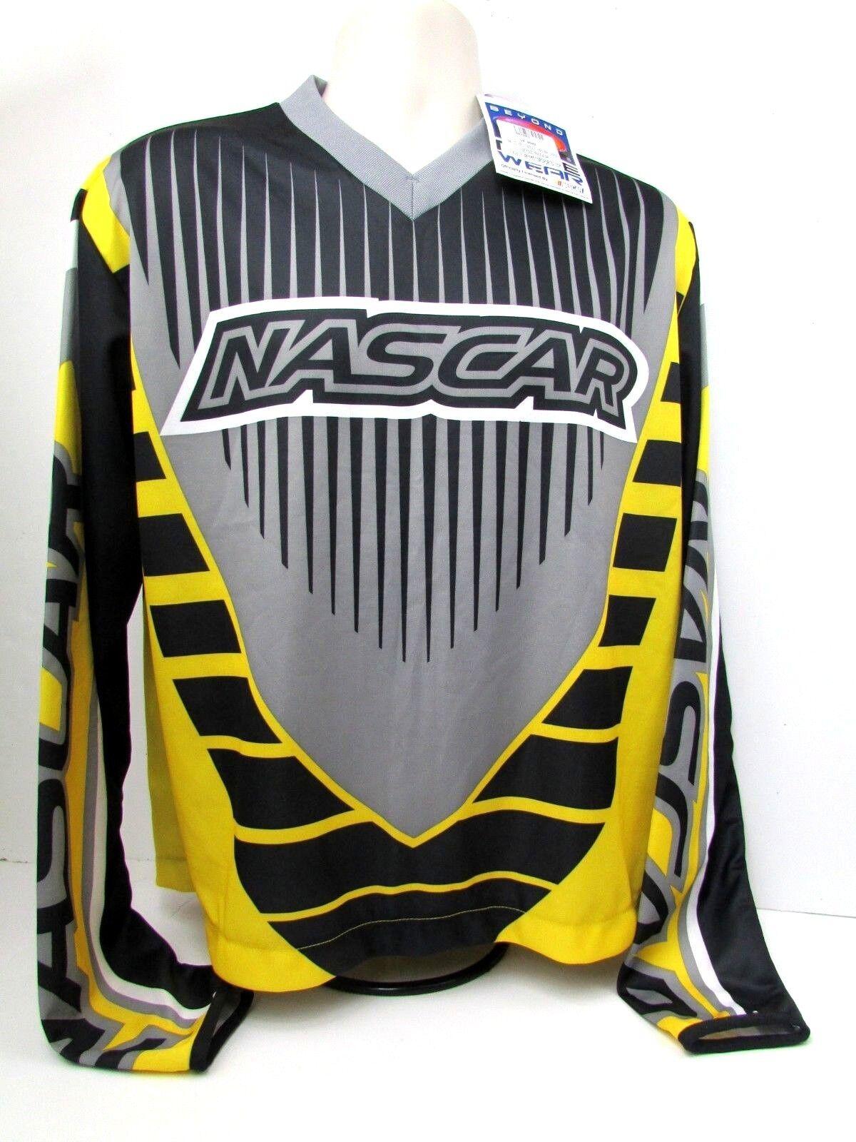 099b4b68 RaceWare NASCAR Series Racing Jersey Long Sleeve Mens NWT Beyond Large  nppixo617-T-Shirts