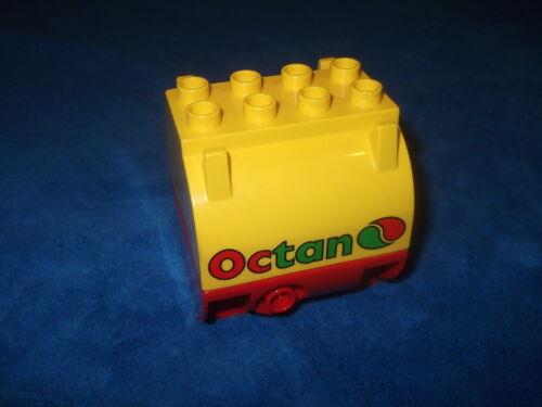 Lego Duplo Ville ferroviaire Caprylique Adaptateur pour wagon de 5609 5605 camion citerne