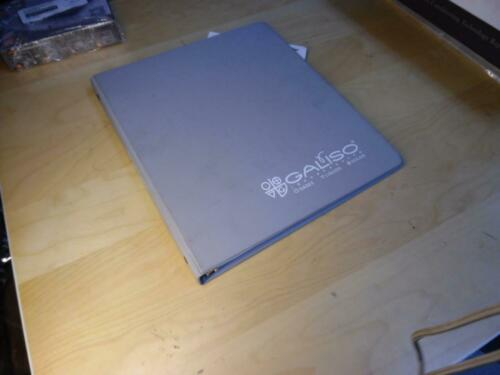 Details about  /GALISO INC HGS-101 DRYCLEAN MANUAL 21-11-1149