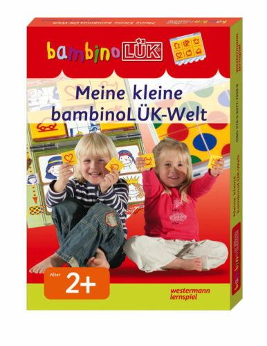 LÜK bambinoLÜK Set Buch Kontrollgerät Meine kleine bambinoLÜK-Welt ab 2 J 7999