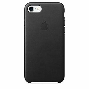 100 Genuine Official Apple iPhone 7 Leather Case Black | eBay