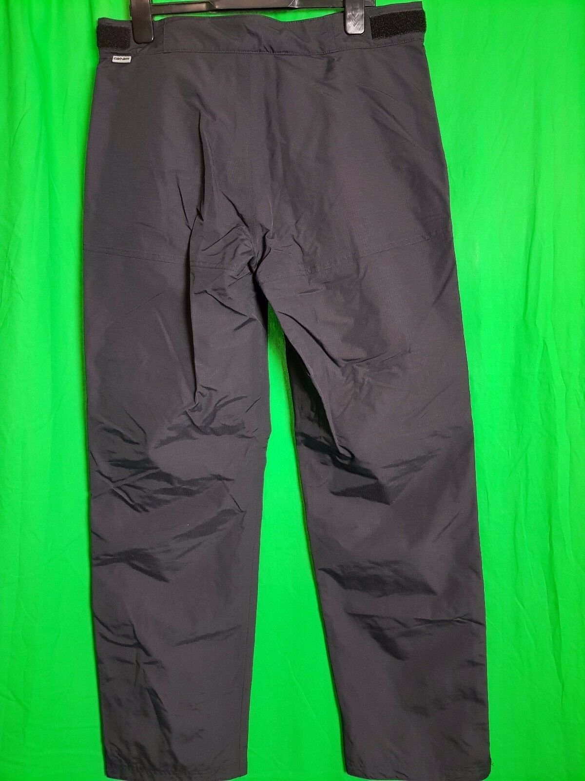 CAN-AM BRP Da Uomo Pioggia Pioggia Pioggia Pantaloni Pantaloni Nero 5630d0