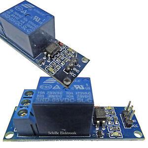1-Kanal-5V-Relay-Relais-Modul-Bascom-Arduino-Raspberry-Pi-Optokoppler-1-x-UM