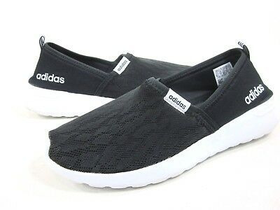 ADIDAS WOMEN/'S CF LITE RACER ATHLETIC CASUAL SHOES,AC8475,BLACK//WHITE,MEDIUM