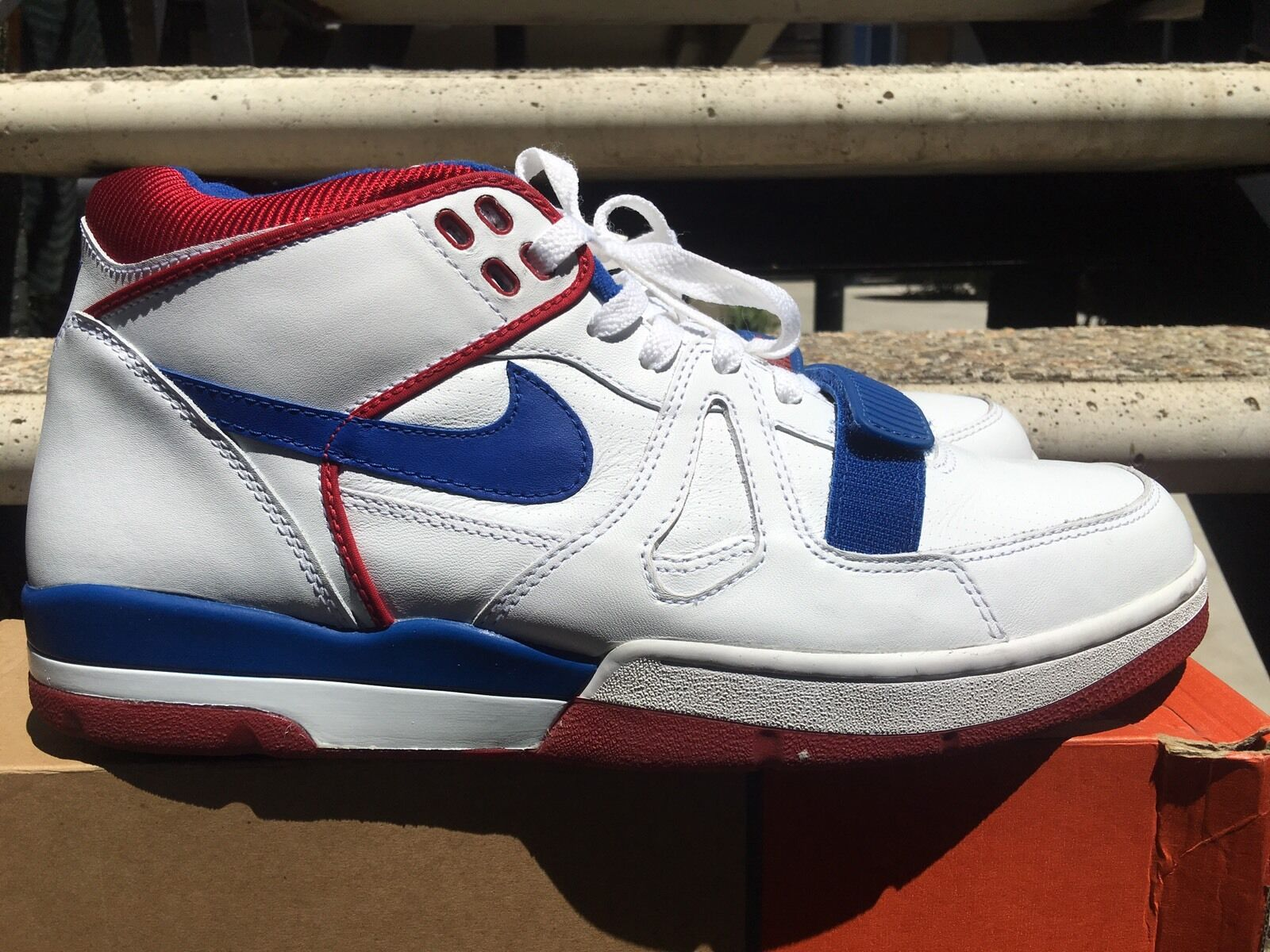 Nike Air Alpha Force Ii 14 Usata W \ Box Volume 14 Ii 307718 141 Retrò 6e524b