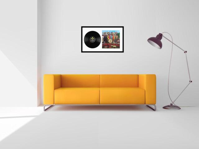 12 Inch Album Frame Double Sleeve LP Vinyl Display Record Cover ...