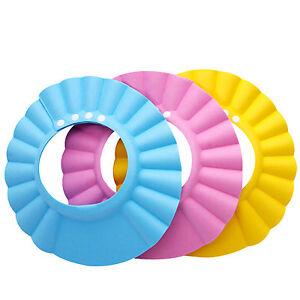 Kids-Baby-Child-Adjustable-Soft-Waterproof-Shield-Shampoo-Shower-Bath-Hat-Cap