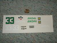 Manufacturer? Decals 1/24 1/25 33 Exxon Skoal Harry Gant F89