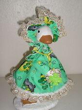 "Goose geese 11"" Teen clothes St. Patricks Irish green dress outfit #822-21"