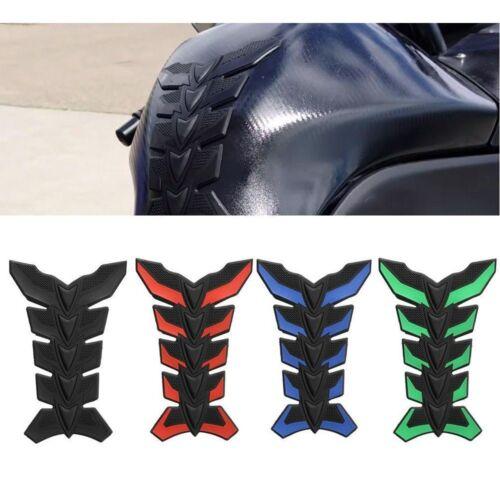 Carbon Fiber 3D Motorcycle Tank Pad Anti-scratch Tankpad Oil Gas Protector 1pc