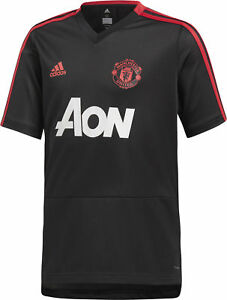 f289712845b Image is loading adidas-Manchester-United-2018-19-Junior-Training-Top-