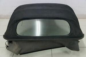 Porsche-986-Boxster-S-Cabrio-Verdeck-Dach-Cabrioverdeck-Glas-Heckscheibe-Schwarz